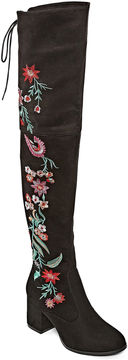 Two Lips 2 Lips Too Bianca Womens Over the Knee Boots