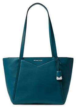 MICHAEL Michael Kors Small Whitney Leather Top Zip Tote