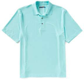 Roundtree & Yorke Travelsmart Big & Tall Short-Sleeve Solid Polo
