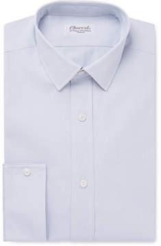 Charvet Grey Checked Cotton-Twill Shirt