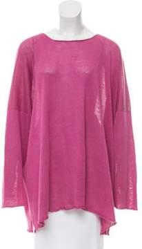 eskandar Oversize Linen Sweater