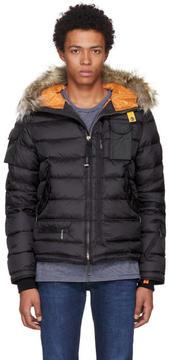 Parajumpers Black Down Mountain Loft Ski Master Jacket