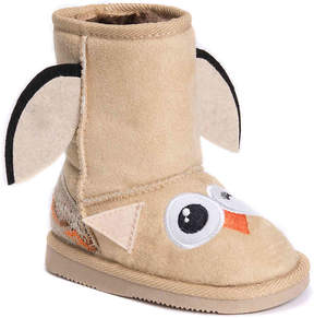 Muk Luks Girls Uno Owl Toddler Boot