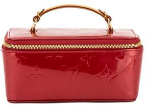 Louis Vuitton Pomme D'Amour Monogram Vernis Leather Jewel Case - RED - STYLE
