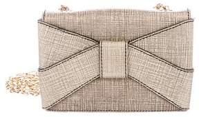 Zac Posen Leather Flap Crossbody Bag