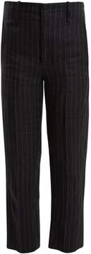 Etoile Isabel Marant Idini wide-leg striped linen trousers