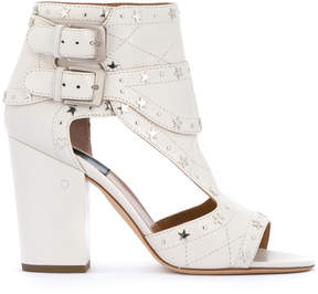 Laurence Dacade star studded buckled ankle boots