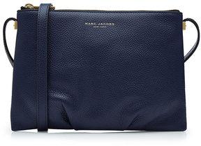 Marc Jacobs Standard Leather Shoulder Bag - BLUE - STYLE