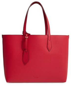 Burberry Reversible Leather Tote - Red - RED - STYLE