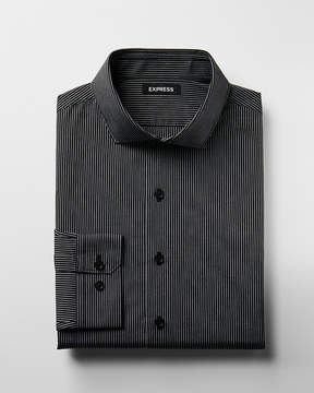 Express Slim Striped Dress Shirt