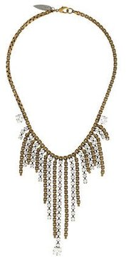 Fallon Crystal Drop Necklace