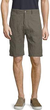 James Perse Men's Metal Tailored Cotton Shorts