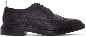 Thom Browne Black Classic Longwing Brogues
