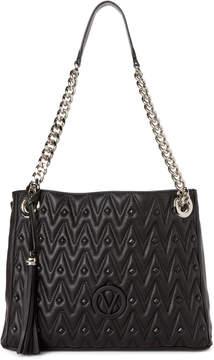 Mario Valentino Valentino By Black Luisa Studded Shoulder Bag