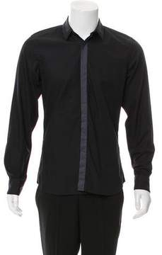 Calvin Klein Collection Contrast Button-Up Shirt