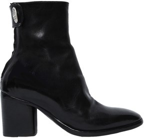 Alberto Fasciani 70mm Leather Ankle Boots