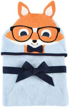 Hudson Baby Nerdy Fox Animal Hooded Towel