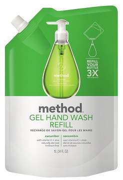 Method Products Gel Hand Soap Refill Cucumber 34oz