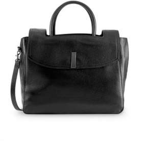 Halston Convertible Leather Tote