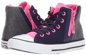 Converse Chuck Taylor All Star Sport Zip - Hi Girls Shoes