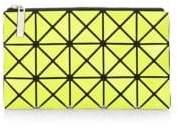 Bao Bao Issey Miyake Yellow Prism Flat Pouch