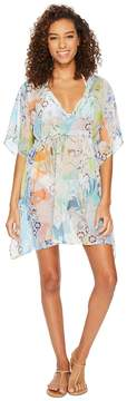 Echo Seaside Floral Silky Butterfly Women's Clothing