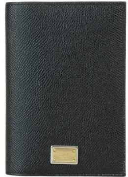 Dolce & Gabbana Passport Case - BLACK - STYLE
