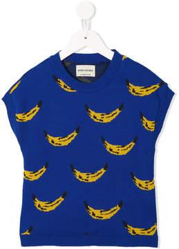 Bobo Choses banana print knitted top