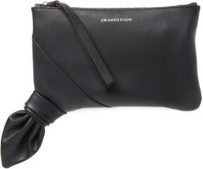 J.W.Anderson Women's Leather Knot Clutch