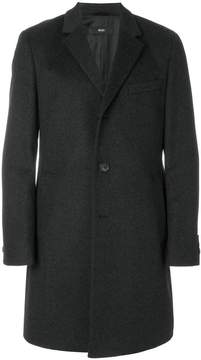 HUGO BOSS mid-length button coat