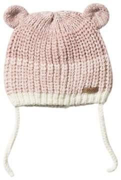 Barts Pink Knitted Stids Inka Beanie