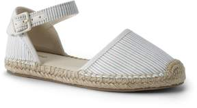 Lands' End Lands'end Girls Espadrille D'Orsay Flat Shoes