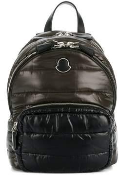 Moncler logo quilted backpack