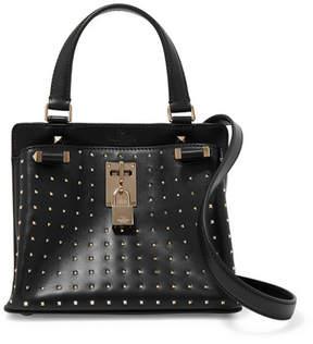 Valentino Joylock Studded Leather Shoulder Bag - Black