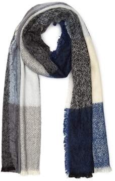 Reiss Selena Colour-Block Scarf