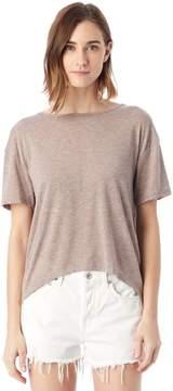 Alternative Apparel Pony Melange Burnout T-Shirt w/ Back Strap