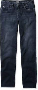 L.L. Bean L.L.Bean Signature Five-Pocket Jeans with Stretch, Slim Straight