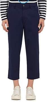 Comme des Garcons Men's Cotton Gabardine Crop Pants