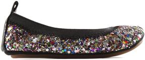 Yosi Samra Rainbow Glitter Sammie Ballet Flat