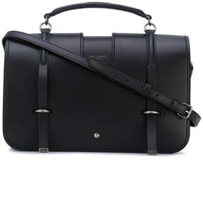 Saint Laurent medium Charlotte messenger bag - BLACK - STYLE