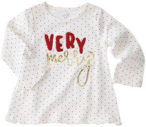 Mud Pie Very Merry Dazzle Tunic Girl's Blouse