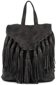 DAY Birger et Mikkelsen & Mood Lee Leather Backpack with Fringe