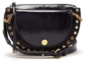 See by Chloe Kriss Patent Leather Cross Body Bag - Womens - Navy