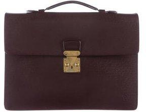 Louis Vuitton Taïga Serviette Kourad Briefcase
