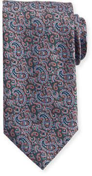 Brioni Tapestry Paisley Silk Tie