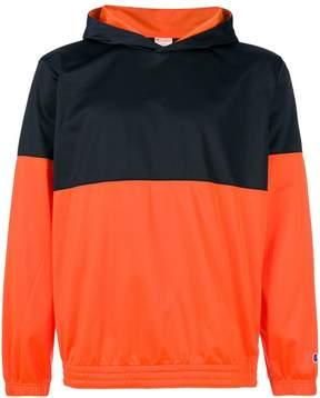 Champion colourblock pullover hoodie