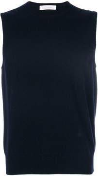 Cruciani crew neck vest pullover