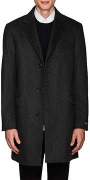 Barneys New York Men's Odessa Striped Wool-Cashmere Felt Overcoat