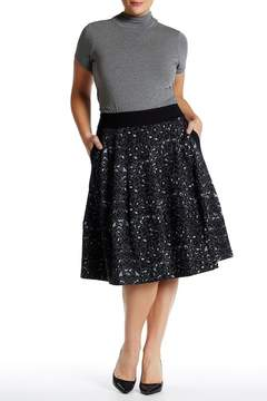 Melissa McCarthy Leopard Skirt (Plus Size)