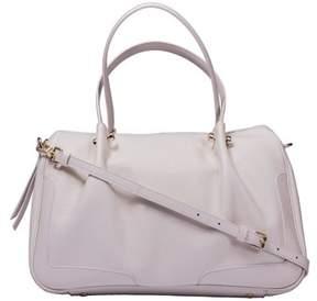 Borbonese Women's Beige Leather Handbag.